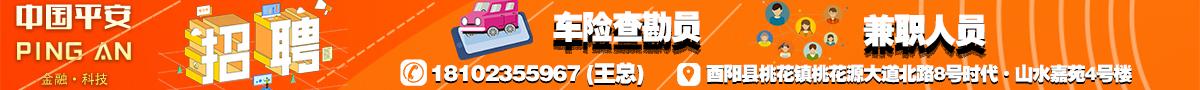 中国平安财产保险股份有限公司酉阳支公司