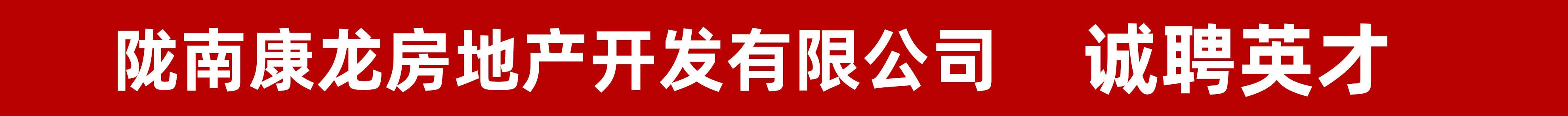 陇南康龙房地产开发有限公司