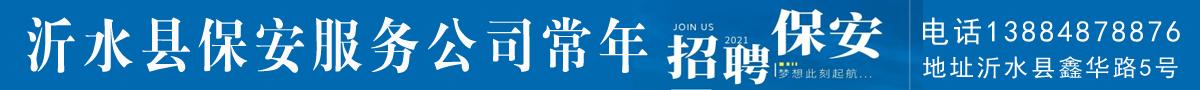 沂水县保安服务公司