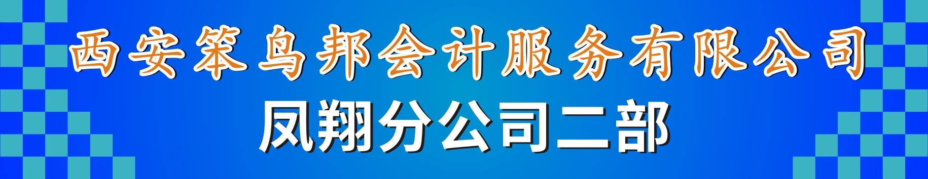 笨鸟邦会计服务有限公司凤翔二部分公司