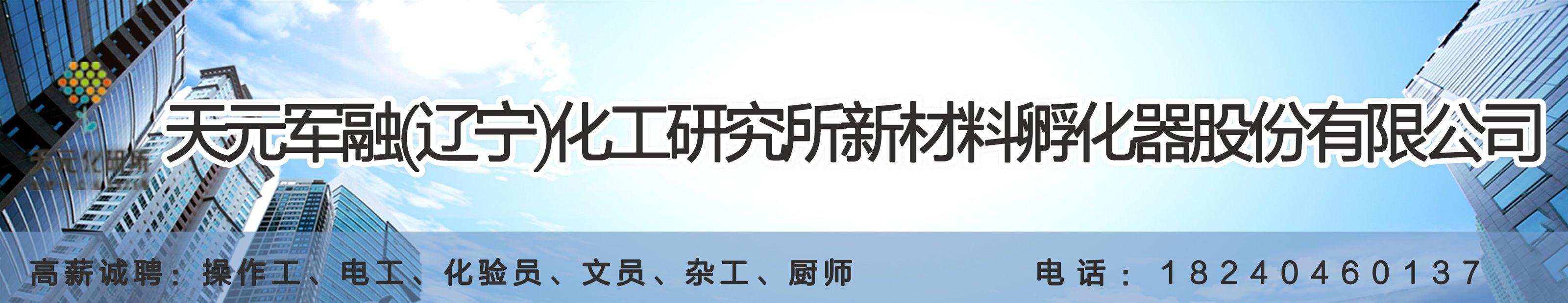 天元军融(辽宁)化工研究所新材料孵化器股份有限公司