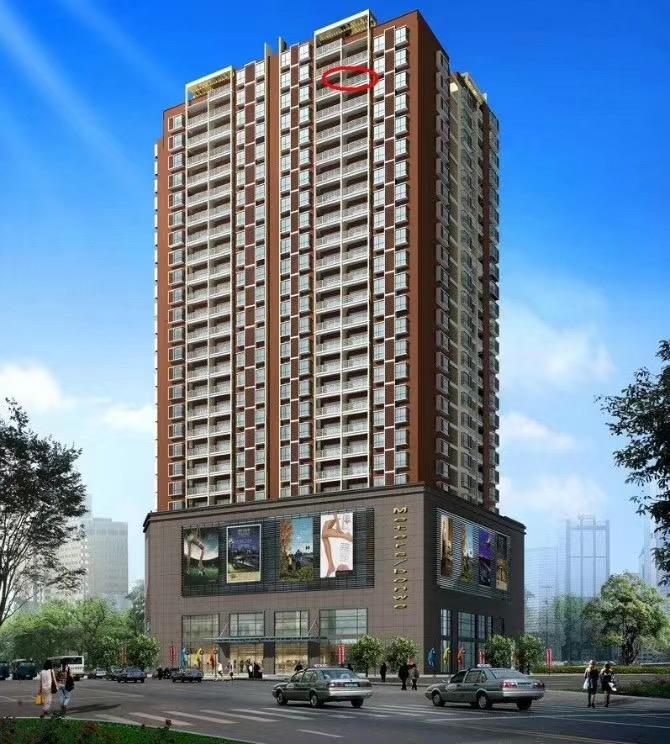 業主急售逸家星城高層帶裝修152.62三房二廳二衛二陽臺