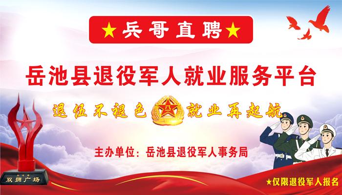 岳池县退役军人就业服务平台
